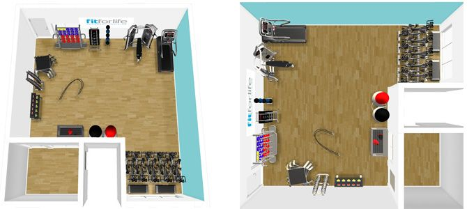 Fit For Life Helensburgh 3D Gym Plans