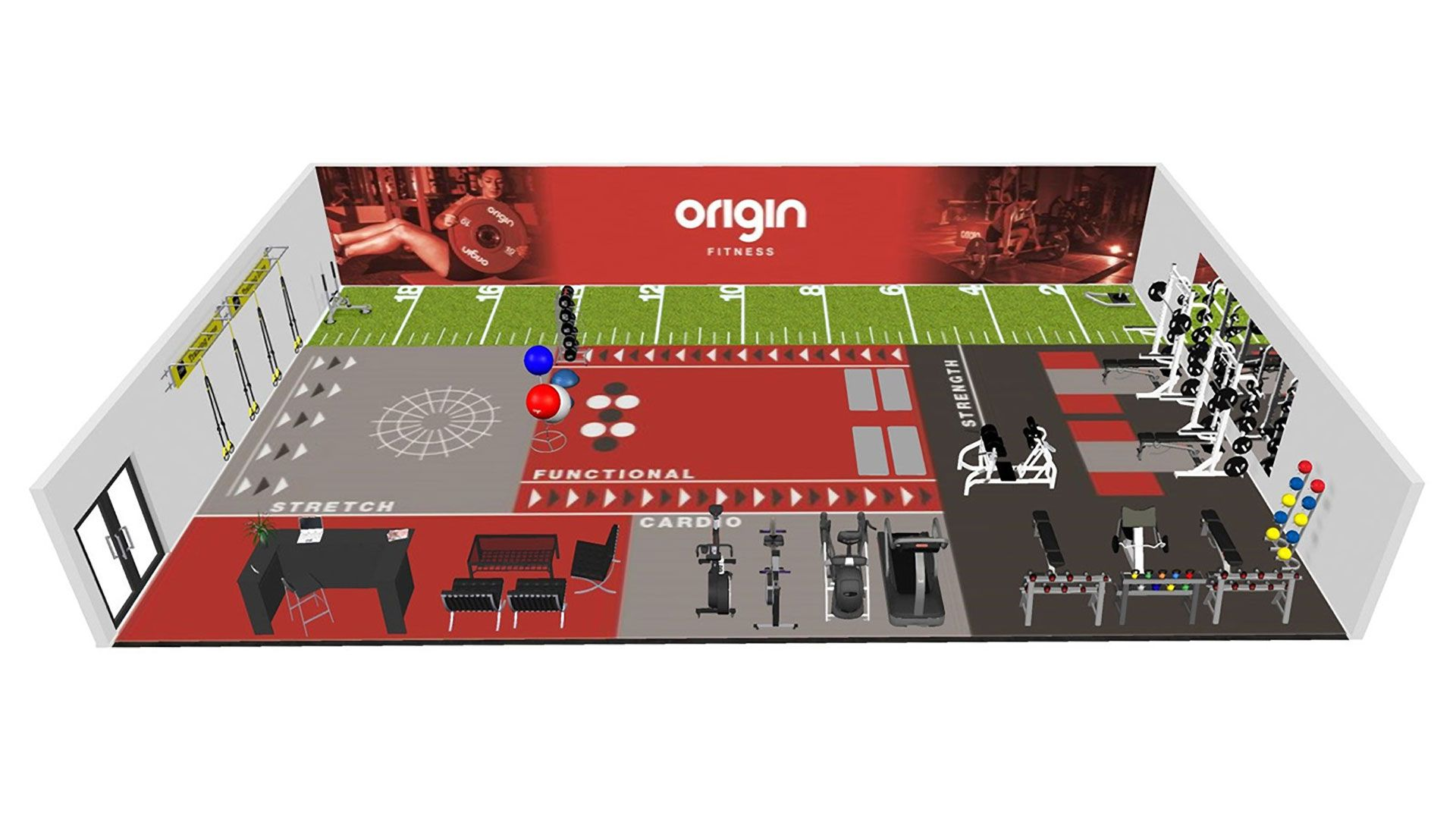 gym design and planning origin fitness
