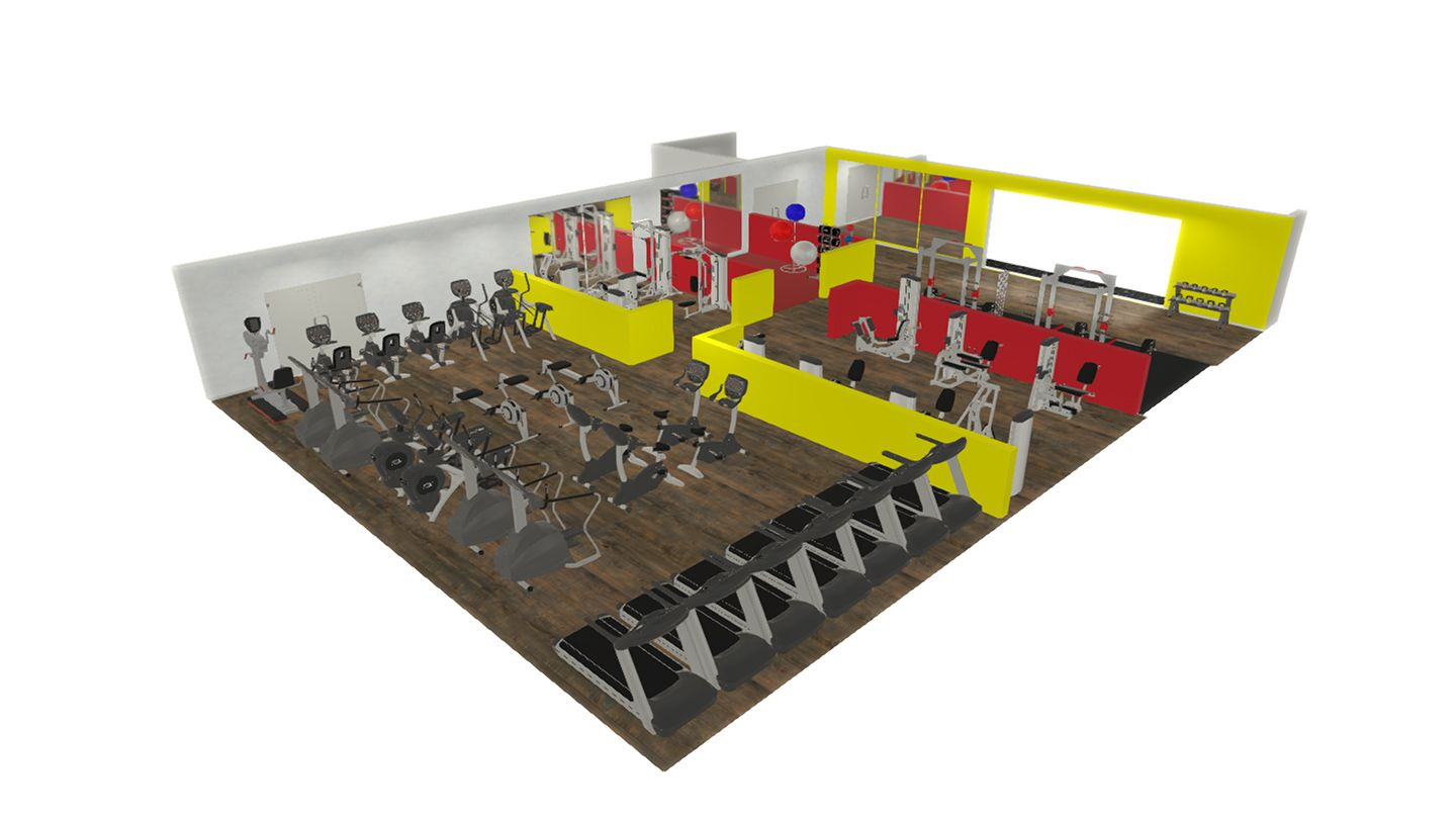 Gym design and planning origin fitness for 3000 sq ft gym layout