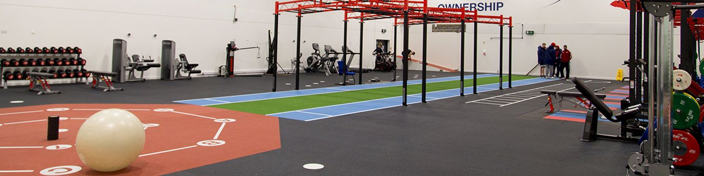 Our amazing gym flooring