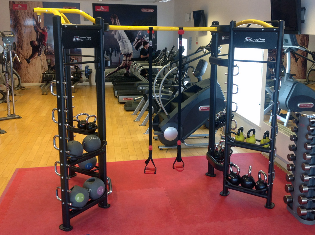 Impulse Crossfit Functional Training Zone at Time Fitness Glasgow