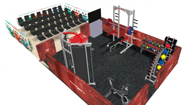 SFN Expo 2016 - Origin Fitness Stand Design